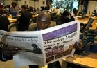 Restrictive media laws stifle press freedom in Africa. Photo courtesy of AFP.